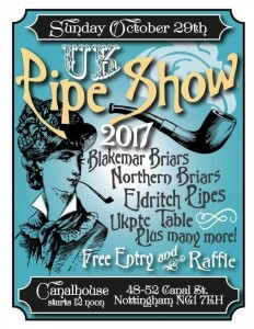 Nottingham Pipe Show 2017 @ Canalhouse